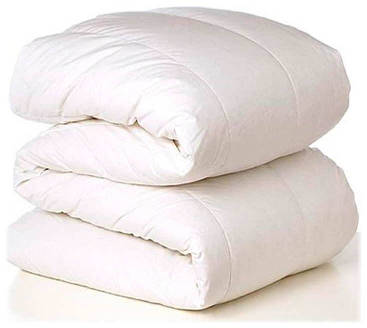теплое легкое пуховое одеяло
